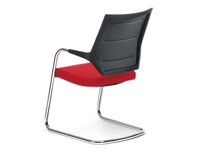 Quarterback cantilever chair