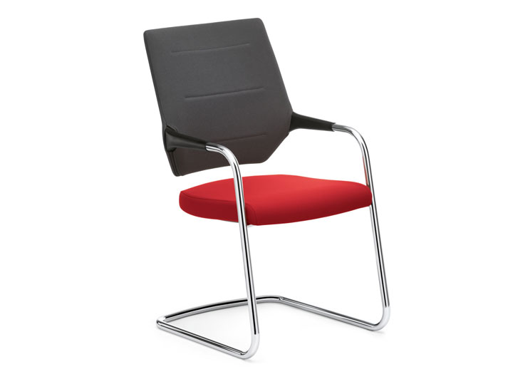 Quarterback cantilever chair