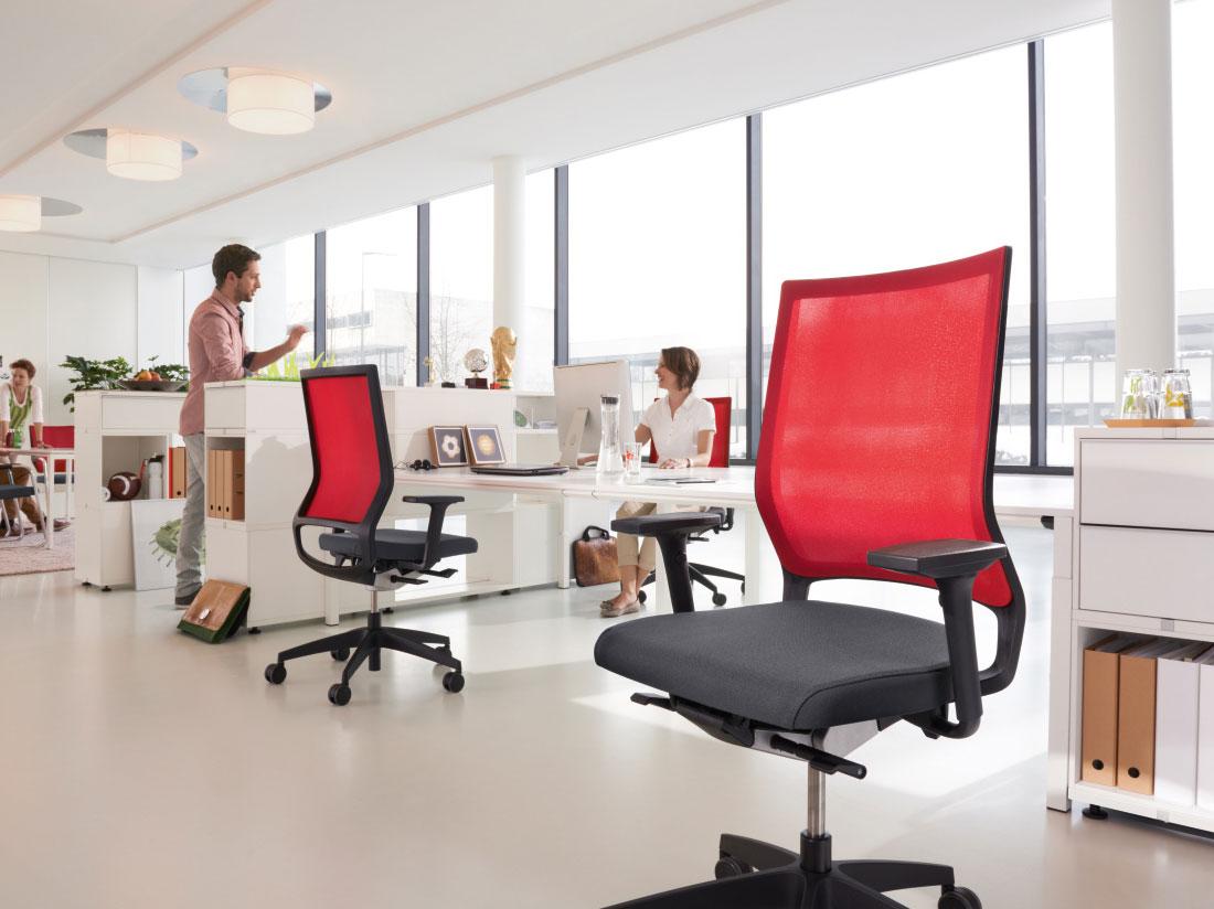 ergonomic seating fuze business interiors
