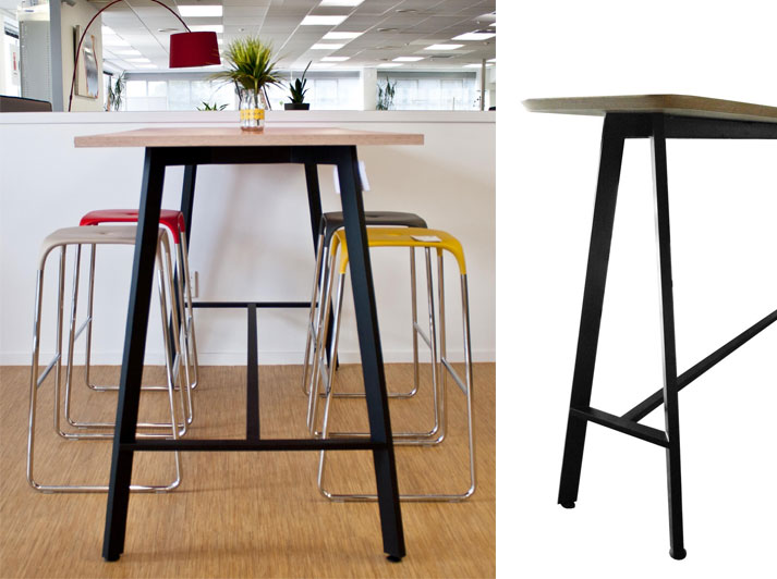 Luca tables and bar leaners