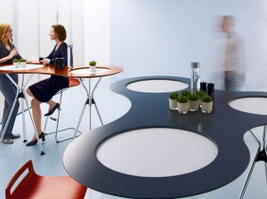 High Meet Table #fuzeinteriors #sedus