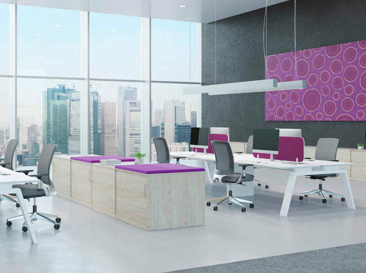 Keywork Desks and Workstations from Fuze Interiors