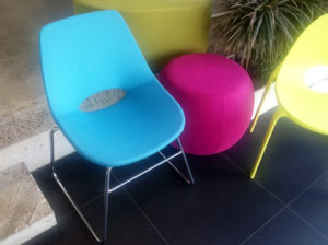 Toni meeting chair from Fuze Interiors