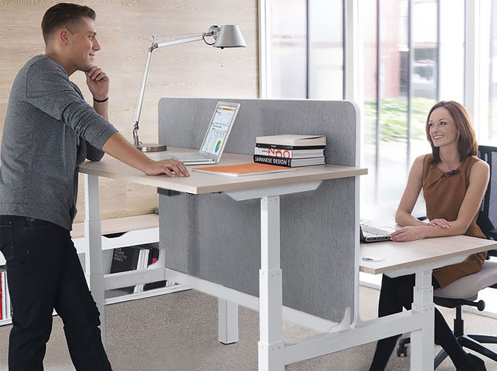 Ascend sit stand desk