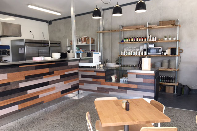 Marua Rd Cafe Custom Counter